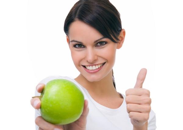 Alimentos para unos dientes sanos.